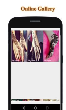 New Online Latest Mehndi Design Collections screenshot 2