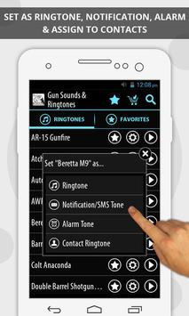 Gun Sounds & Ringtones screenshot 1