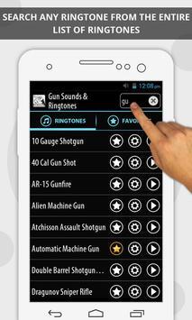 Gun Sounds & Ringtones screenshot 2