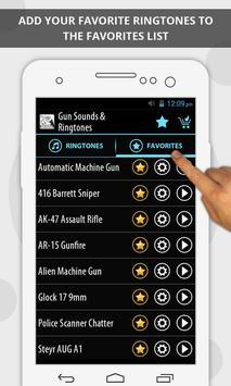Gun Sounds & Ringtones screenshot 3