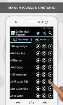 Gun Sounds & Ringtones screenshot 4