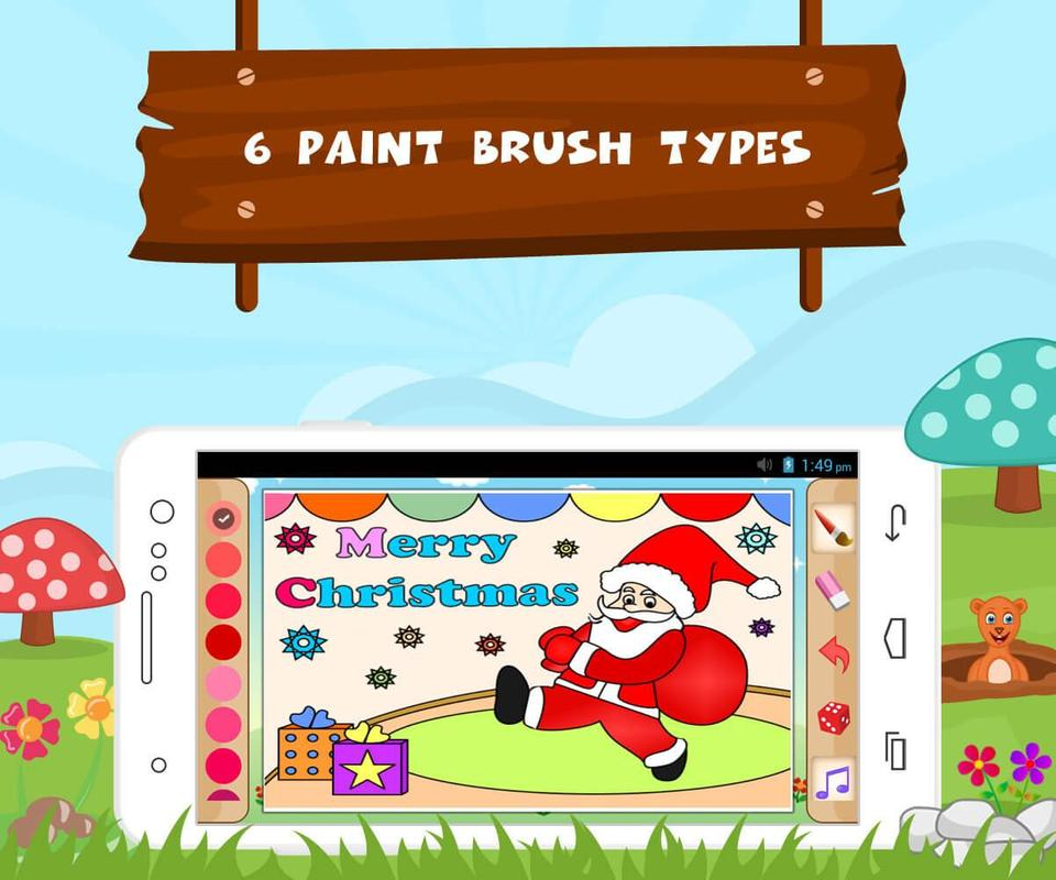 Kids Book Draw Color Learn Apk Screenshot