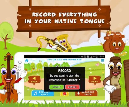 Learn Musical Instrument Names screenshot 2