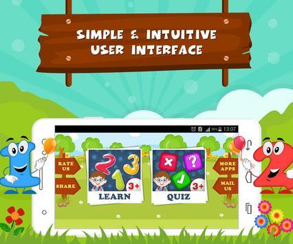 Learn Numbers - Kids Fun poster