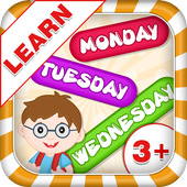 Learn Days Of Week - Kids Fun icon