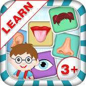 Learn Parts Of Body - Kids Fun icon
