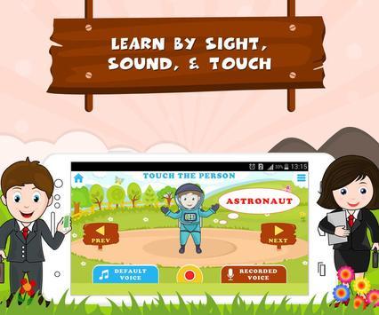 Learn Professions - Kids Fun poster