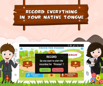 Learn Professions - Kids Fun screenshot 1