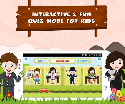 Learn Professions - Kids Fun screenshot 2