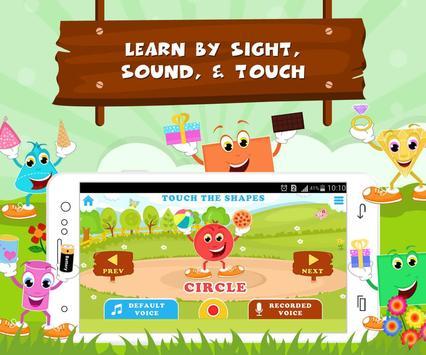 Learn Shapes - Kids Fun screenshot 1