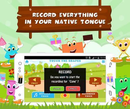 Learn Shapes - Kids Fun screenshot 2