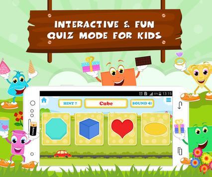 Learn Shapes - Kids Fun screenshot 3