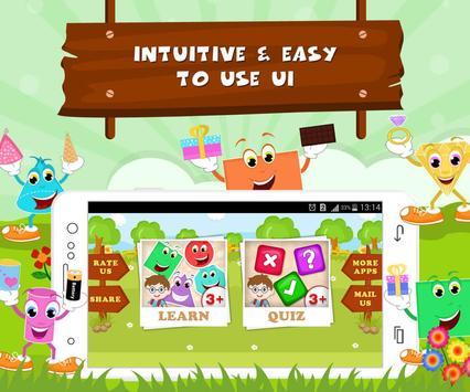 Learn Shapes - Kids Fun screenshot 4