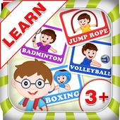 Learn Sports - Kids Fun icon