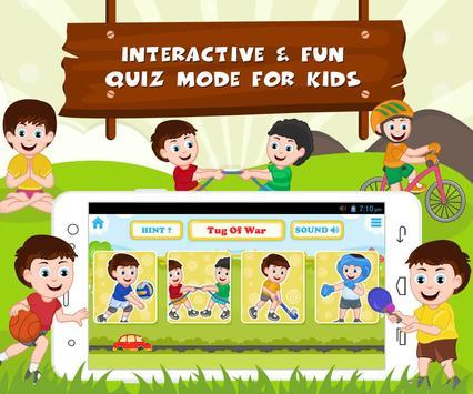 Learn Sports - Kids Fun screenshot 8