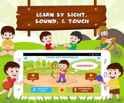 Learn Sports - Kids Fun screenshot 3