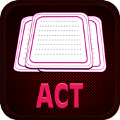 Learn ACT with flashcards icon