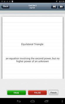 Learn ACT with flashcards apk screenshot