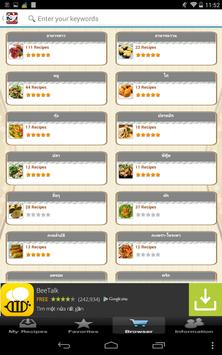 Thai Recipes for Home Cooking apk screenshot