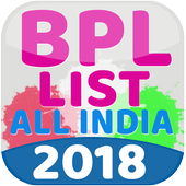 BPL List 2018 - All India icon