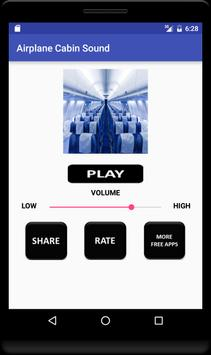 Airplane Cabin Sound apk screenshot