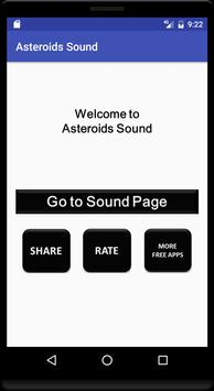 Asteroids Sound poster