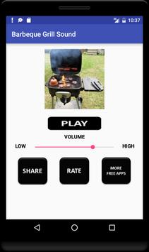 Barbecue Grill Sound screenshot 3