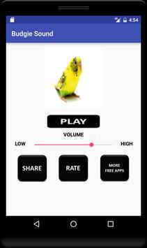 Budgie Sound apk screenshot