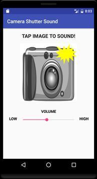 Camera Shutter Sound screenshot 1