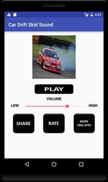 Car Drift Skid Sound screenshot 3