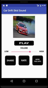 Car Drift Skid Sound poster