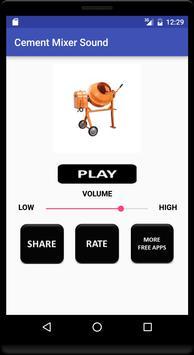 Cement Mixer Sound apk screenshot