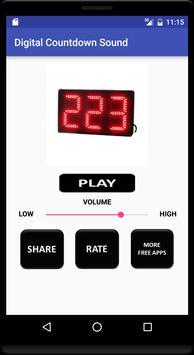 Digital Countdown Sound poster