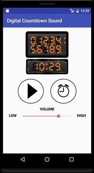 Digital Countdown Sound screenshot 1