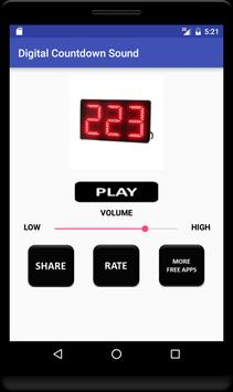 Digital Countdown Sound screenshot 2