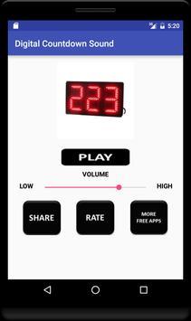 Digital Countdown Sound screenshot 3