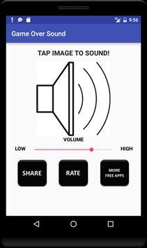 Game Over Sound screenshot 2