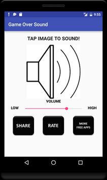 Game Over Sound screenshot 3