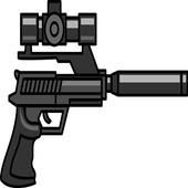 Gun With Silencer Sound icon