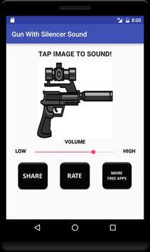 Gun With Silencer Sound screenshot 2