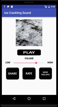 Ice Crackling Sound screenshot 1