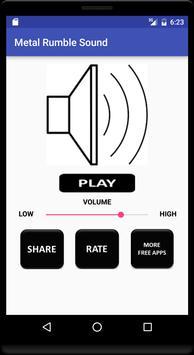 Metal Rumble Sound apk screenshot