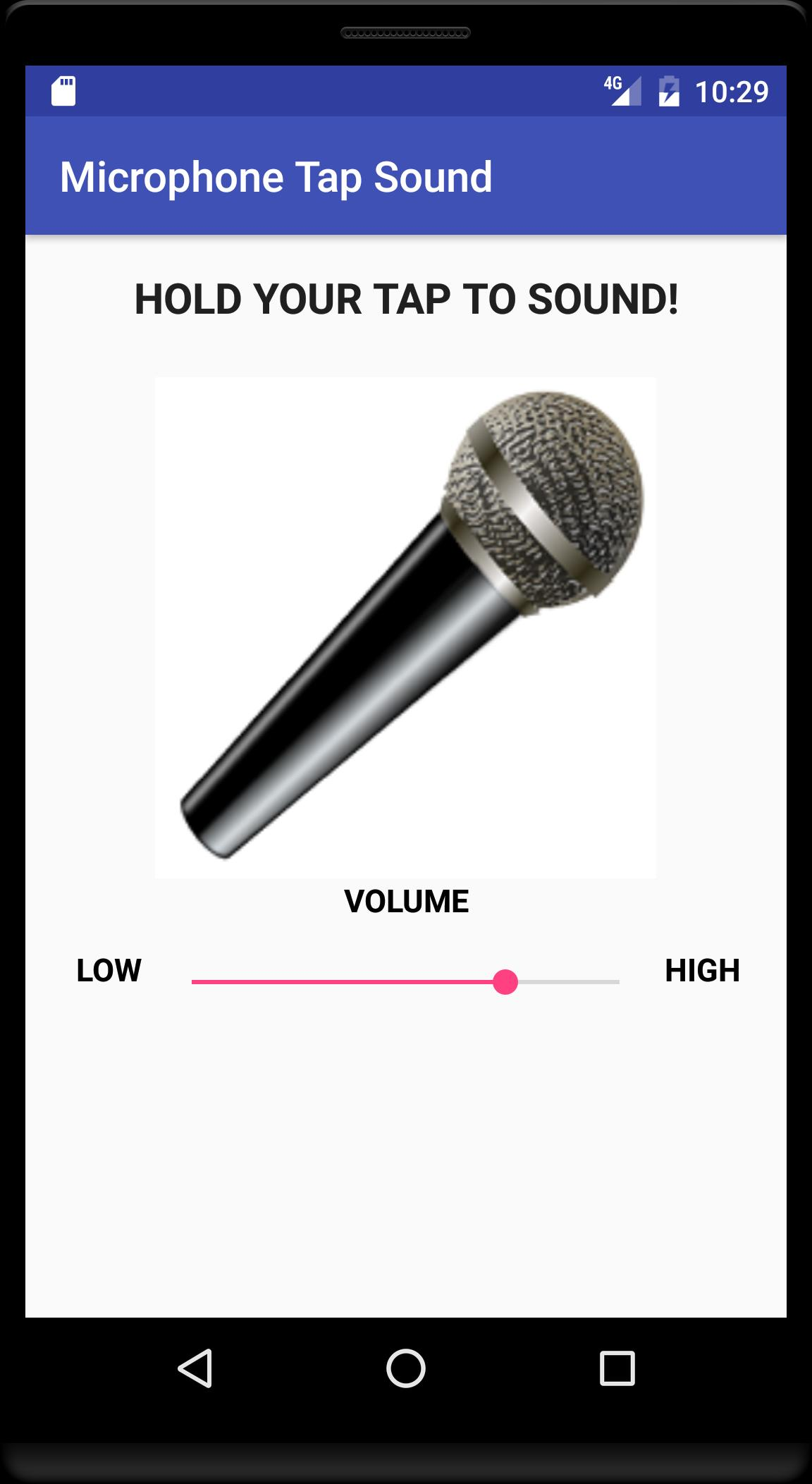 Microphone Tap Sound for Android - APK Download