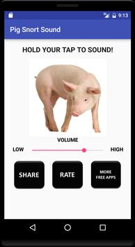 Pig Snort Sound apk screenshot