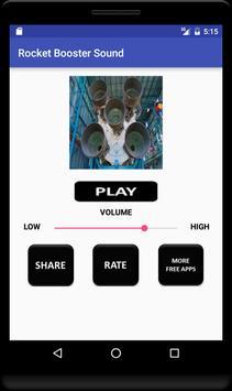 Rocket Booster Sound screenshot 3