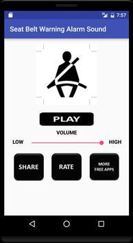 Seat Belt Warning Alarm Sound screenshot 1