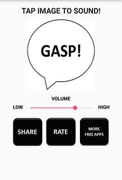 Surprised Gasp Sound apk screenshot