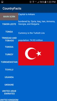 Country Facts screenshot 1