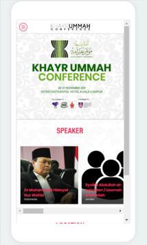 Khayr Ummah Conference apk screenshot
