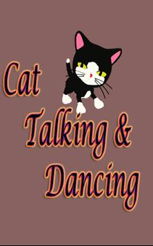 Cat Talking and Dancing poster